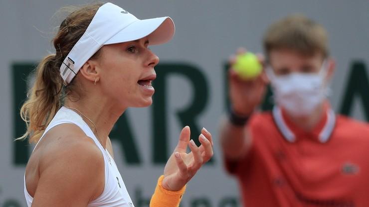 Roland Garros: Magda Linette odpadła w trzeciej rundzie