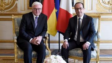 Steinmeier: rośnie odpowiedzialność Berlina i Paryża za Europę