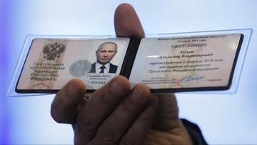 Władimir Putin oficjalnie kandydatem na prezydenta Rosji