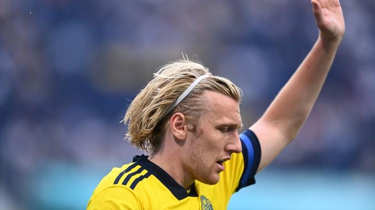 Euro 2020: Emil Forsberg z drugim najszybszym golem w historii mistrzostw Europy