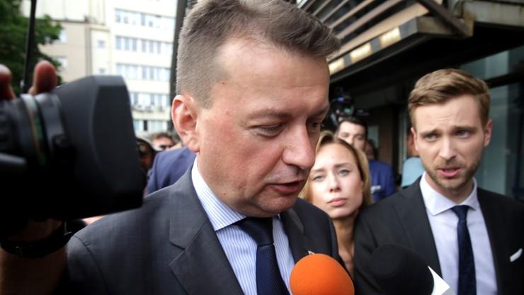 Błaszczak rok po ŚDM: 89 proc. Polaków uważa, że nasz kraj jest bezpieczny