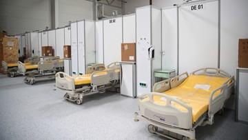 Za tydzień uruchomienie szpitala tymczasowego w Expo w Krakowie