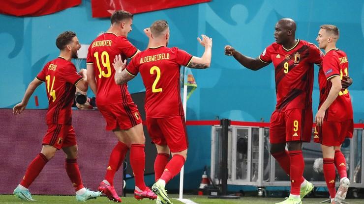 Euro 2020: Belgia - Rosja. Pewna wygrana Romelu Lukaku i spółki