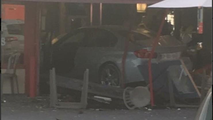 Zarzuty dla mężczyzny, który wjechał samochodem w pizzerię