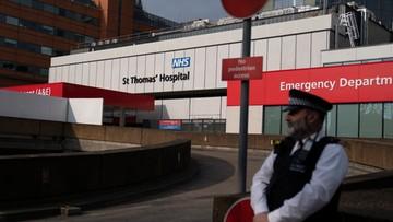 Rekordowa liczba ofiar koronawirusa w Wielkiej Brytanii. Nowe informacje o stanie Johnsona