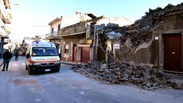 Stan kryzysowy we Włoszech po silnym wstrząsie w rejonie Etny