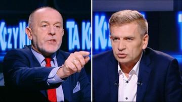 """""""Jakim prawem funkcjonuje pan w życiu publicznym"""" vs """"pan kłamie"""". 7-minutowa kłótnia Arłukowicza z Mosińskim w..."""