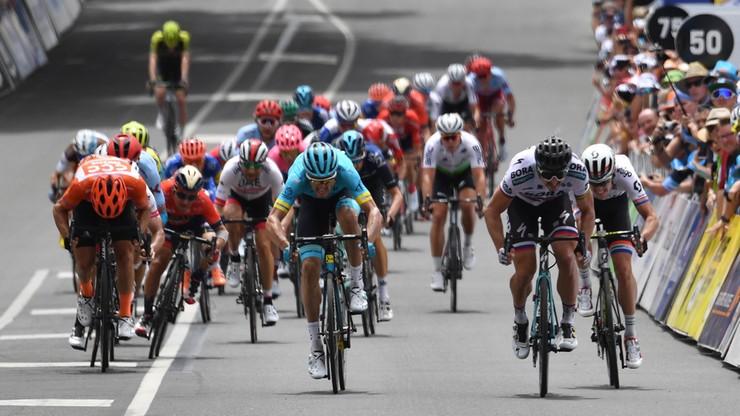 Tour Down Under: Sagan wygrał trzeci etap, Bevin z CCC Team nadal liderem