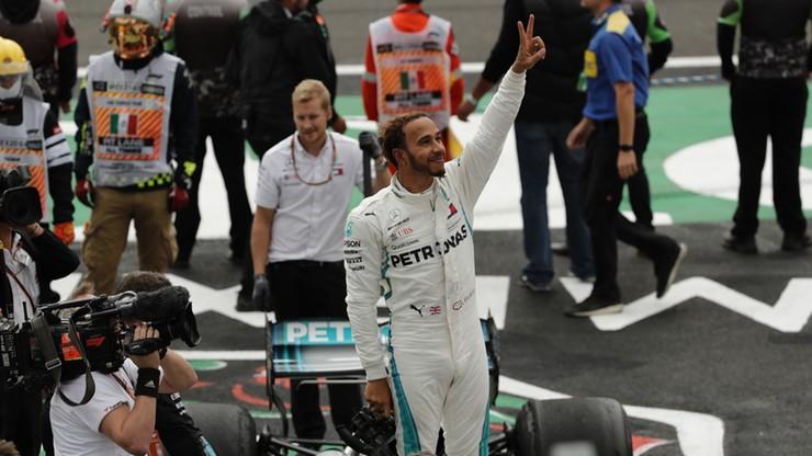 Formuła 1: Hamilton po raz piąty mistrzem świata