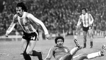 Zmarł legendarny piłkarz. Jego gole pomogły Argentynie w wywalczeniu mistrzostwa świata