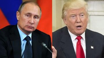 """Rozmowa telefoniczna Putin-Trump. """"O wspólnej walce z terroryzmem"""""""