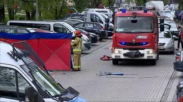Strzały na warszawskim Gocławiu. Jeden mężczyzna nie żyje, drugi z podciętym gardłem