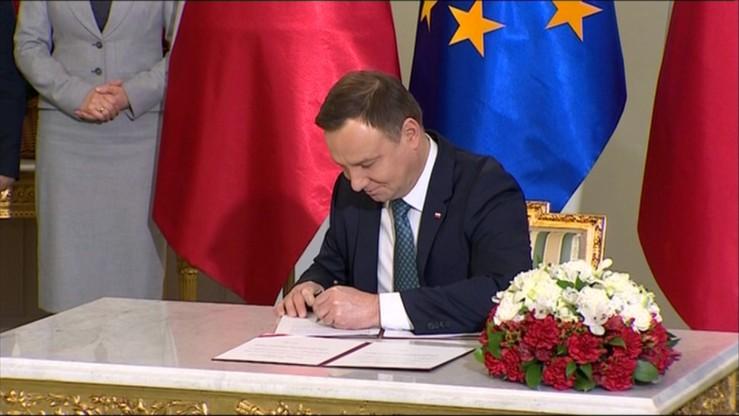 Prezydent podpisał ustawę o zgromadzeniach