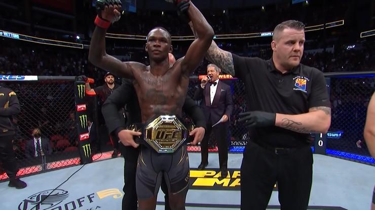 UFC 263: Pewne zwycięstwo Israela Adesanyi. Brandon Moreno pierwszym mistrzem z Meksyku (WIDEO)