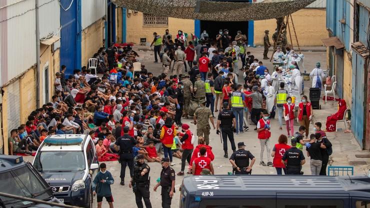 Hiszpania. Masowy napływ imigrantów do Ceuty. Zmarł trzeci Marokańczyk