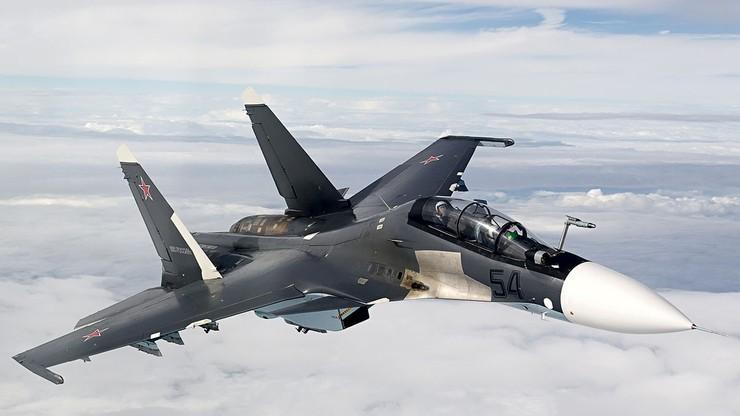 Ćwiczenia rosyjskich myśliwców. Pilot miał... zestrzelić drugiego