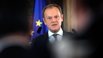 Tusk: rząd powinien natychmiast podjąć decyzje, także te niepopularne