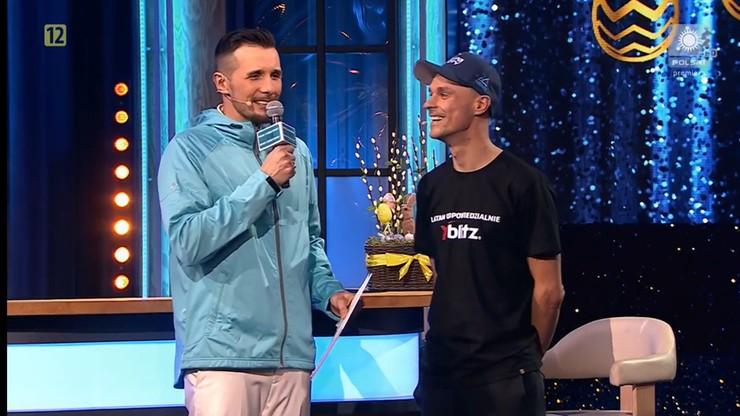 Piotr Żyła zrobił furorę jako gość kabaretu w Telewizji Polsat