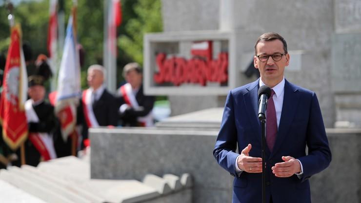"""""""Solidarność marką Polski w świecie"""". Premier na obchodach 39. rocznicy Porozumienia Jastrzębskiego"""