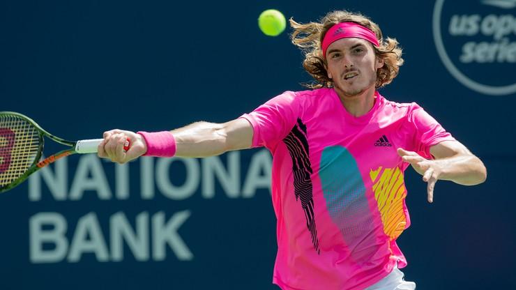 ATP w Toronto: Tsitsipas pokonał Zvereva i zagra w półfinale