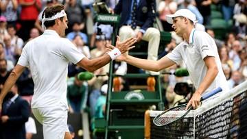 Wimbledon: Pierwsza taka porażka Federera