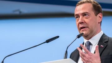 Miedwiediew: może dojść do odwołania wyborów na Ukrainie