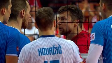 Awantura w meczu Polska - Słowenia! Spięcie Kubiaka i Urnauta (WIDEO)