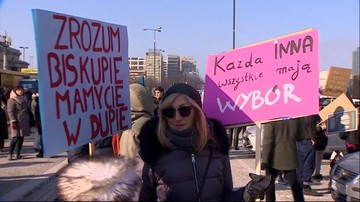 """""""Wolność równość, aborcja na żądanie"""". Manifa przeszła ulicami Warszawy"""