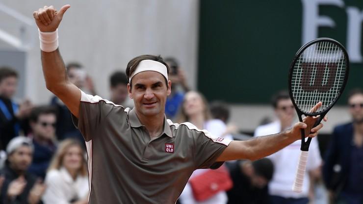 French Open: Pewna wygrana Federera w pierwszej rundzie