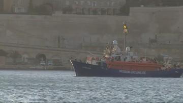 Pierwsi migranci ze statku Mission Lifeline opuścili Maltę. Przyjmie ich Francja