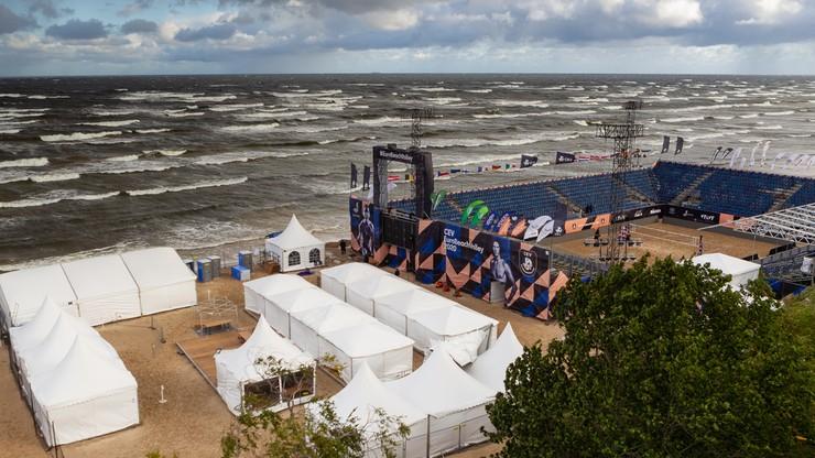 ME w siatkówce plażowej: Wszystkie czwartkowe mecze odwołane z powodu złej pogody