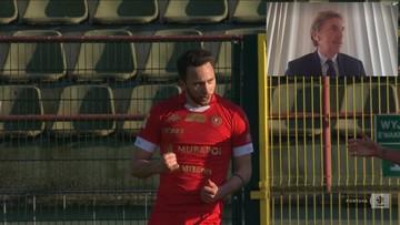 Boniek przerwał wywiad z powodu genialnego gola Widzewa! (WIDEO)