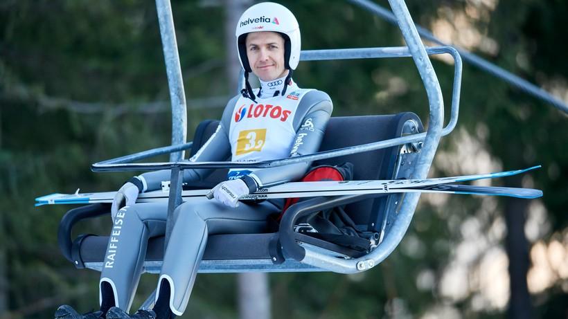 Kontuzja kostki i kilka tygodni przerwy legendy skoków narciarskich