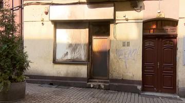 Podpalił sklep z dopalaczami w Katowicach. Zatrzymano 33-latka