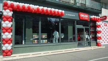 """Pierwszy punkt sprzedaży """"Orlen w ruchu"""". Został otwarty w Warszawie"""