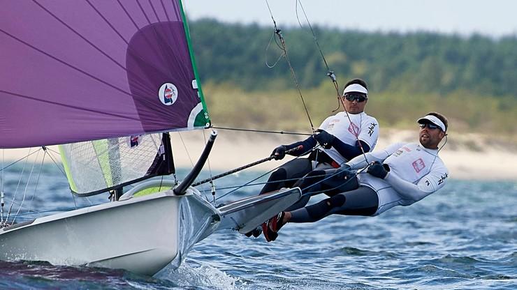 MŚ w klasie 49er: Kwalifikacja olimpijska dla Polaków w zasięgu ręki