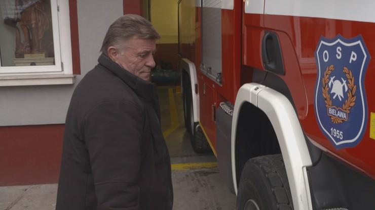 Strażak spowodował wypadek w drodze do pożaru. Sąd Najwyższy uchylił mu wyrok więzienia