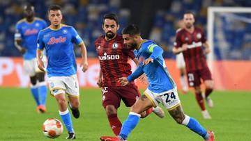 Liga Europy: SSC Napoli pokonało Legię Warszawa