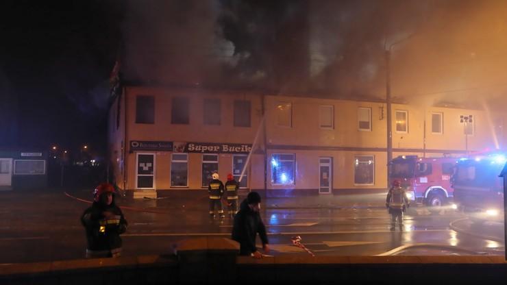Pożar garażu w Opolu. Zmarła jedna osoba