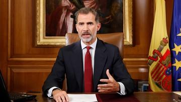 """""""Złamali prawo i okazali niedopuszczalny brak lojalności"""". Król Hiszpanii o dążeniach niepodległościowych w Katalonii"""