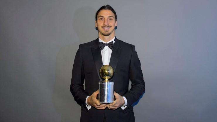 Ibrahimović najlepszym piłkarzem w Szwecji. Dziesiąty raz...