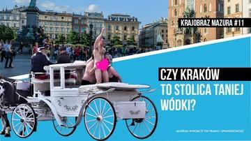 """""""Nie dla Lumpen turystyki w Krakowie"""". Kandydat do Senatu chce m.in. wprowadzić opłatę turystyczną"""