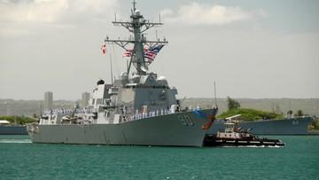 Rosyjski resort obrony: okręt USA próbował przekroczyć granicę Rosji