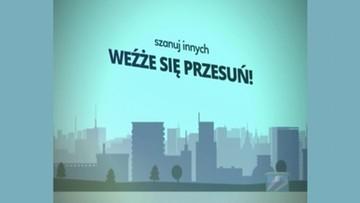 Spoty o savoir-vivre w krakowskiej komunikacji miejskiej