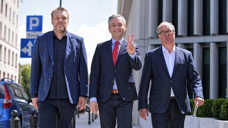 """Będzie drugi blok na lewicy. """"Jesteśmy oburzeni rozbijactwem Czarzastego, Biedronia i Zandberga"""""""