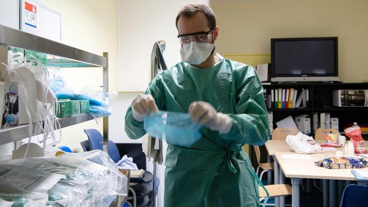 Belgijski lekarz: skany płuc młodych ludzi z koronawirusem są przerażające