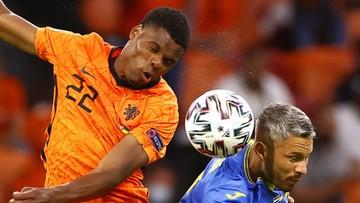 Euro 2020: Holandia - Ukraina 3:2. Gol Denzela Dumfriesa