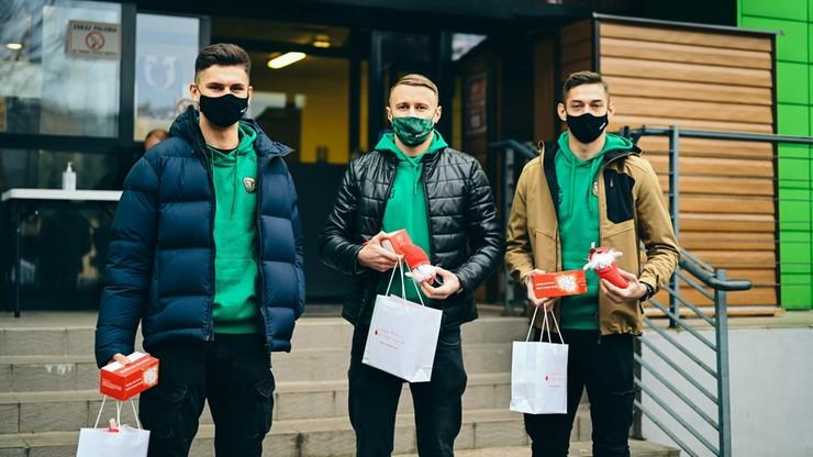 Piękny gest piłkarzy Śląska! Oddali osocze dla osób walczących z koronawirusem