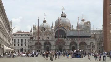 Banksy był w Wenecji, ale strażnicy nie pozwolili mu wystawić pracy. Nie miał zezwolenia