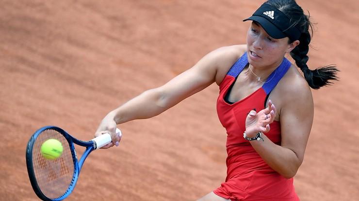 WTA w Rzymie: Odpadła rozstawiona z numerem drugim Osaka